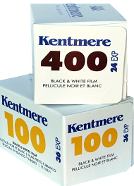 Kentmere ( by Ilford) Camera Film