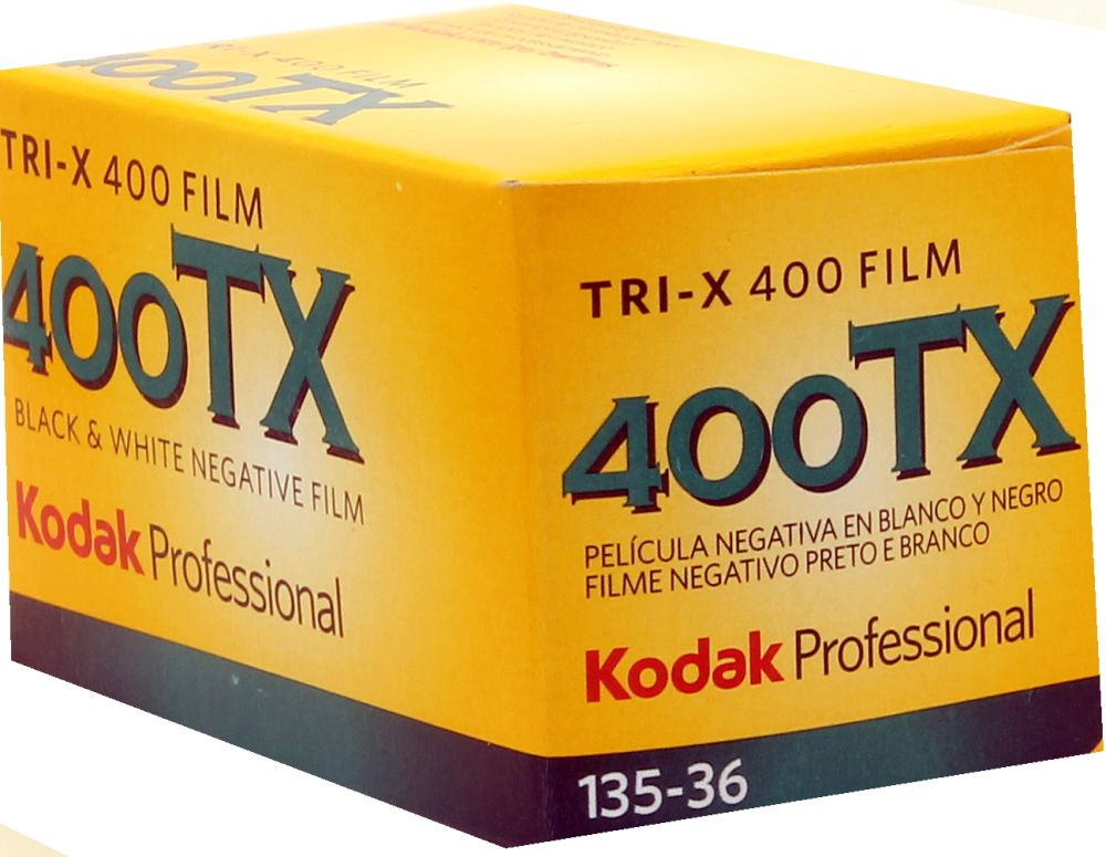 Kodak Tri-X 400 iso 35mm 36 exposure Black & White Camera Film